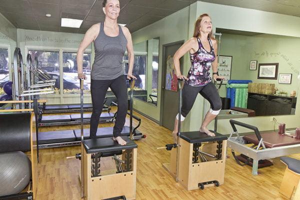 Semi-Private  Pilates Training graphic